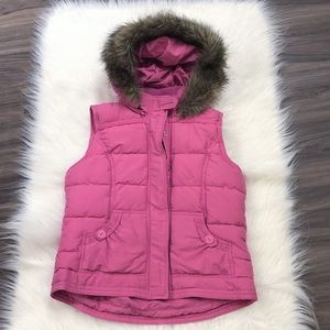 Limited Too Pink Puffer Vest 20